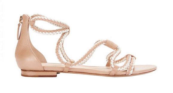 Alexandre Birman Exclusive Braided Two Tone Flat Sandal.PNG