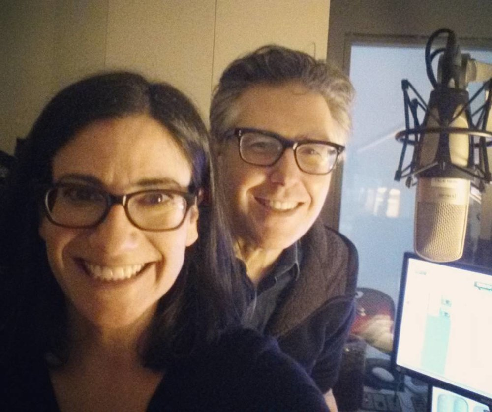 Rachel and Ira Glass, of  This American Life .