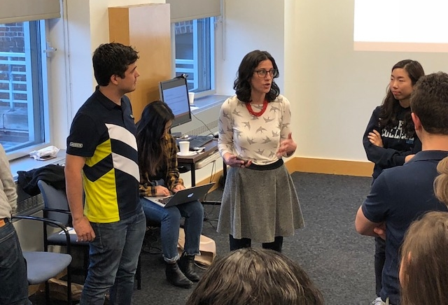 Corporate Training - Improv helps business! Leadership, group dynamic & effective communication are just a few of the skills improv can help cultivate to get your team working together.