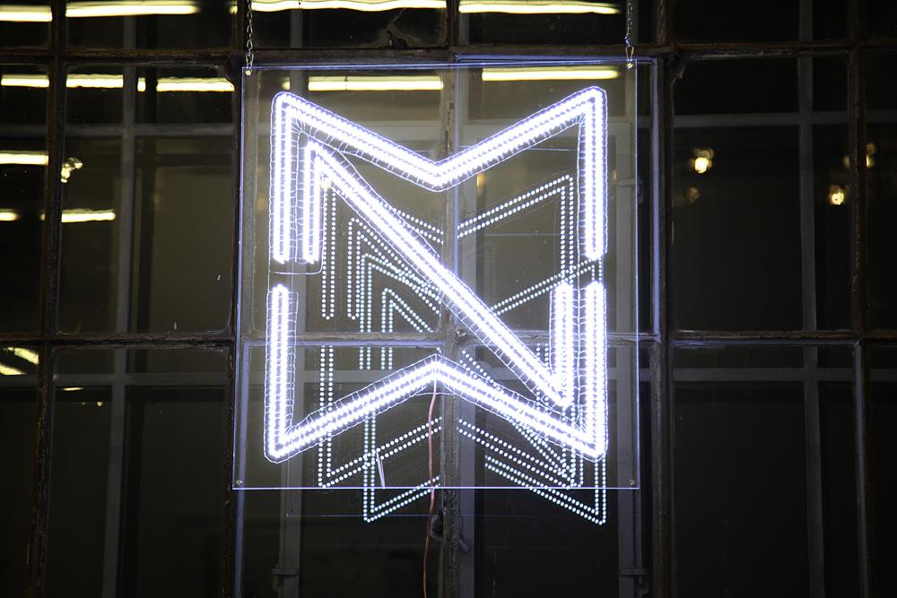 MNW | MalerinnenNetzWerk, lightwork by Katharina Arndt, 2017