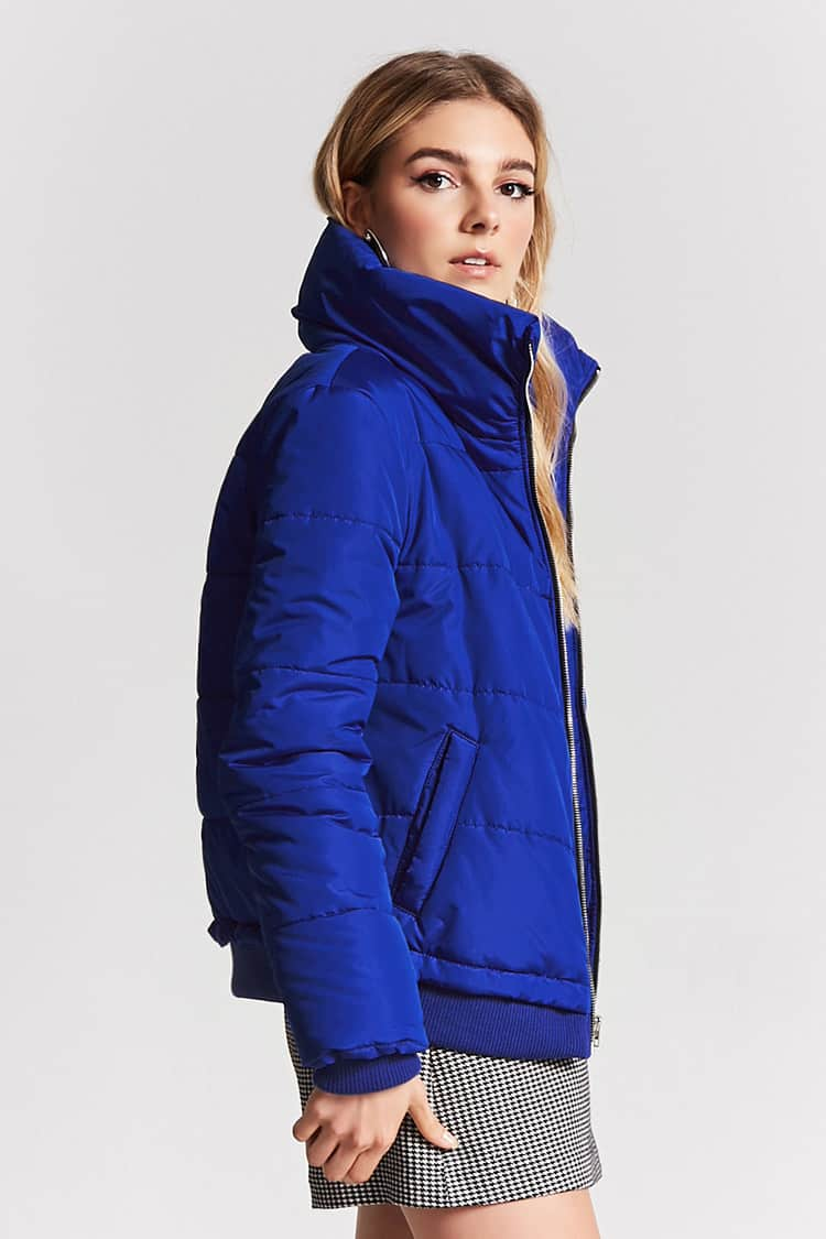 Forever 21,  Zip-Up Puffer Jacket , $27.90