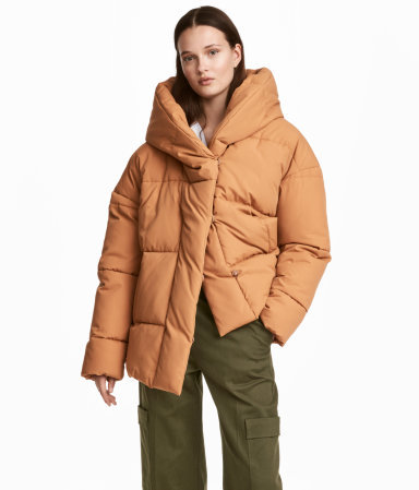 H&M,  Padded Jacket with Hood , $59.99