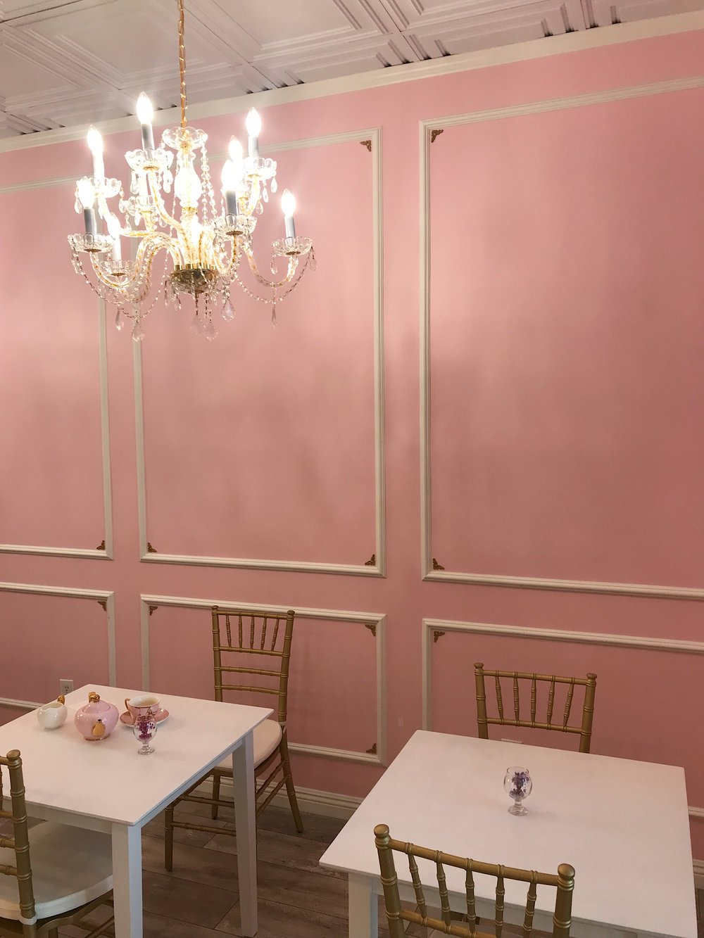 Tea Time - Rose and Blanc- Pink Decor - sabineforever.com.JPG