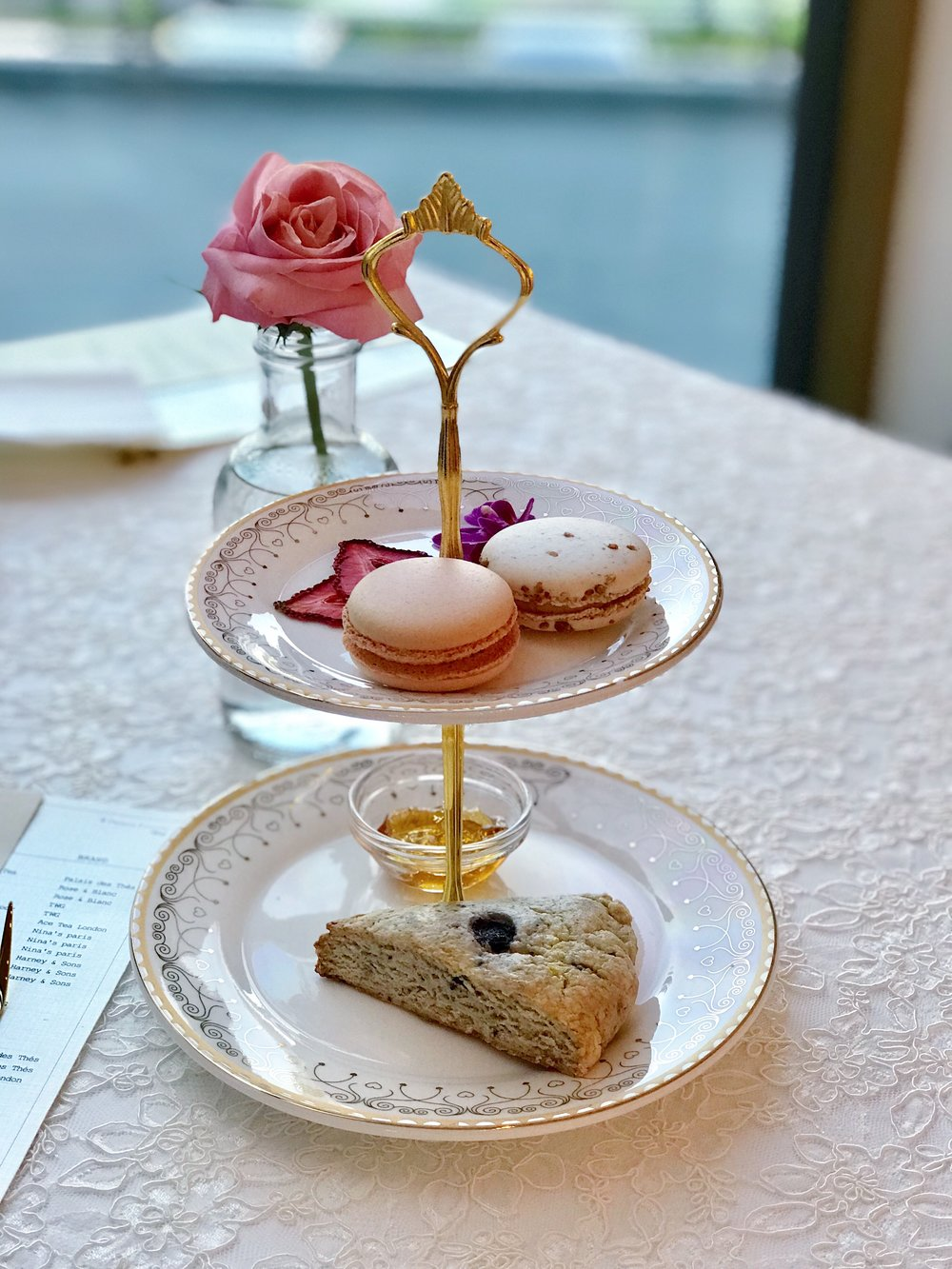 Tea Time - Rose & Blanc - Desserts - sabineforever.com.JPG