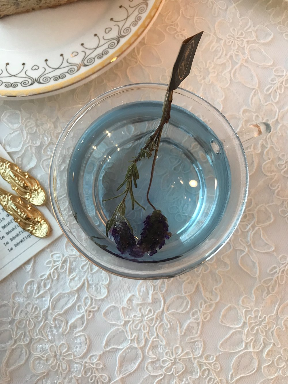 Tea Time - Rose & Blanc - Lavender Tea - sabineforever.com.JPG