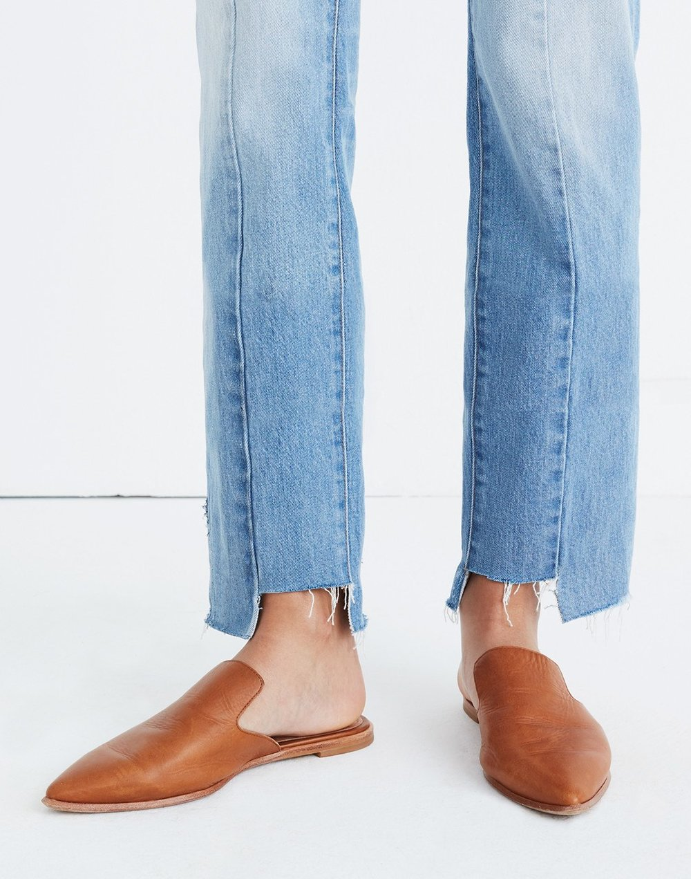 Gemma Mule Modeled- - 5 Places to Snag the Perfect Loafers & Mules for Fall -Sabine Forever - sabineforever.com.jpg
