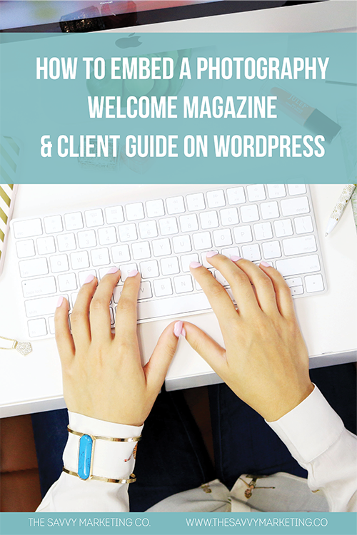 Pinterest How to Embed a Welcome Magazine on Wordpress Blog.png