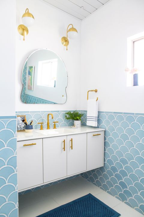 Statement Bathroom Mirrors