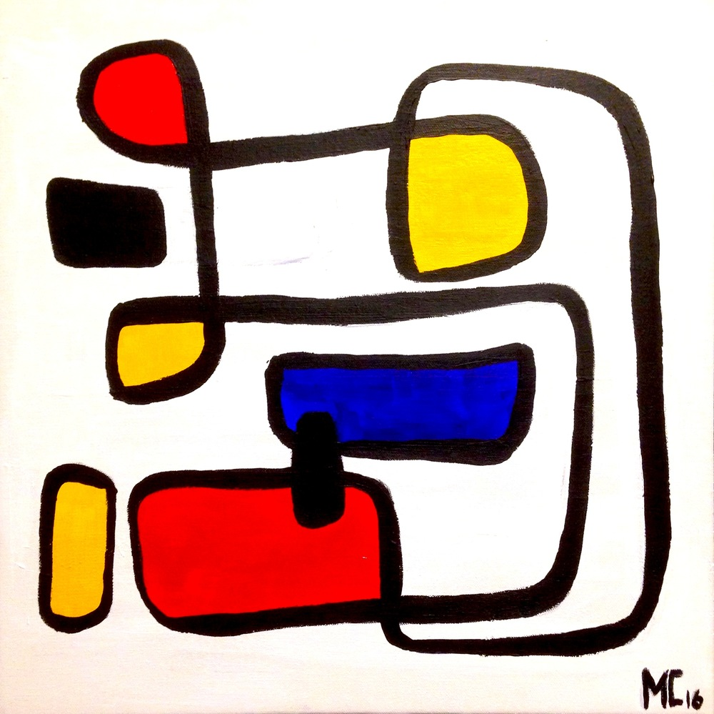 Mirondrian no.1 - SOLD