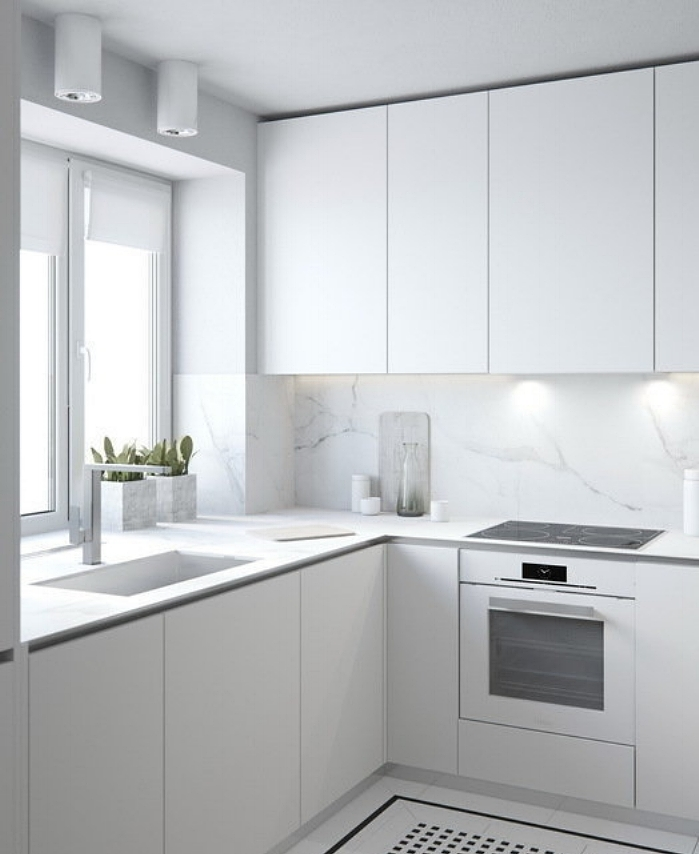 interior inspiration: white kitchen