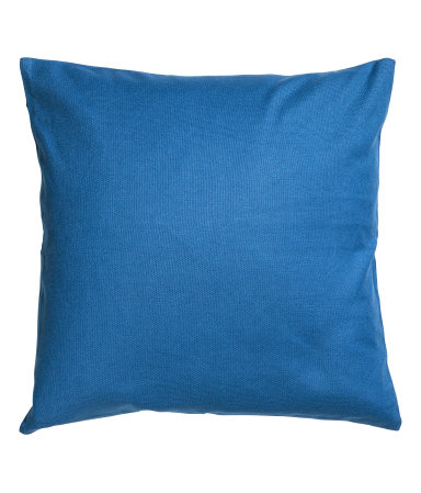 Blue canvas cushion cover $4.99  H&M