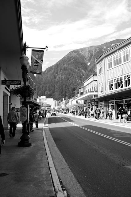 Juneau: main tourist street