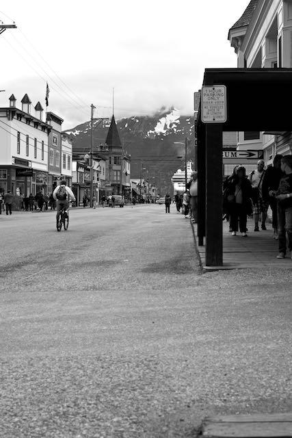 Skagway: main toursit street
