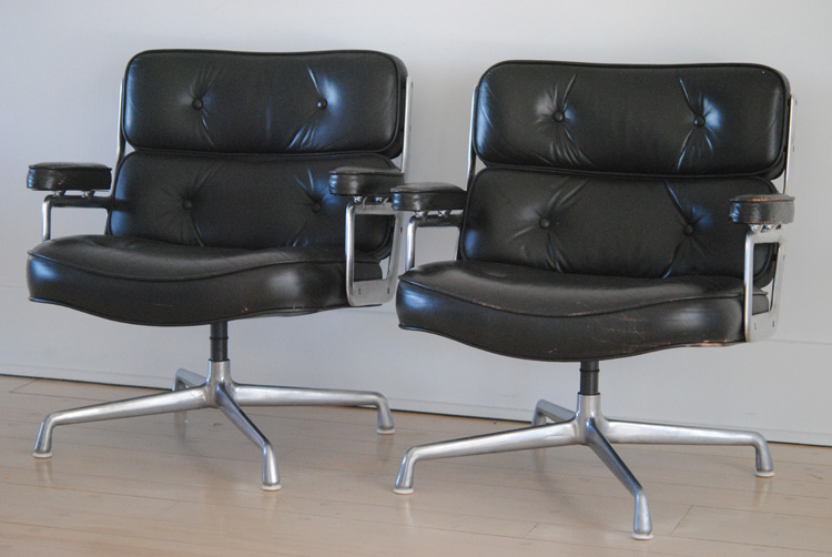 Mid century Eames Time Life chairs