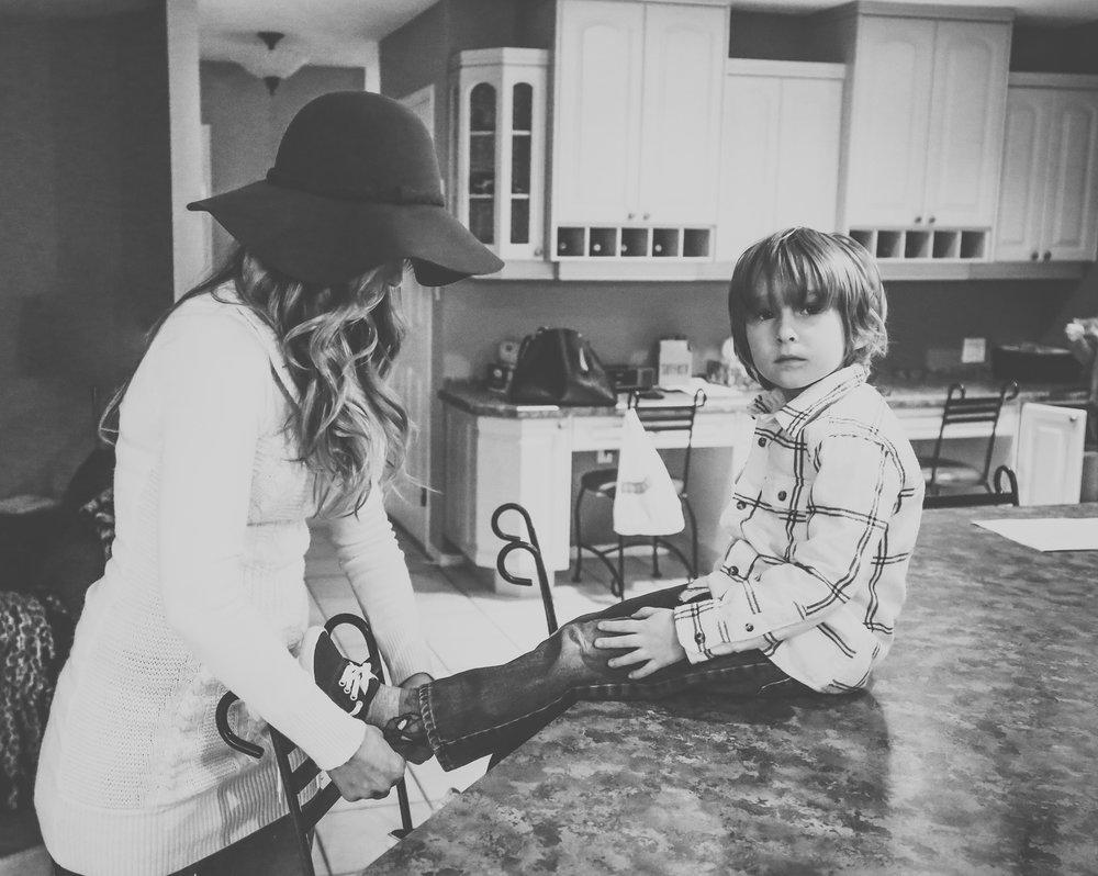 Mama & Jonny