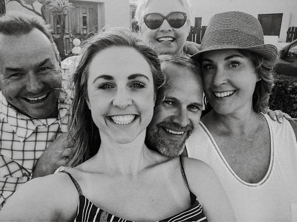 The Aruba crew  Thanks Taylor for including your aunt in a group photo xx Hazards of being the photographer.