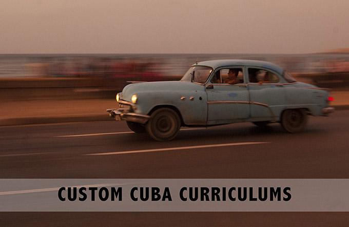 Custom Cuba Field Studies