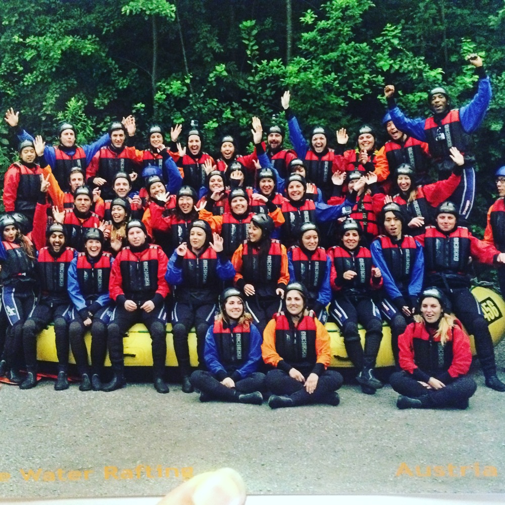 Our rafting crew!