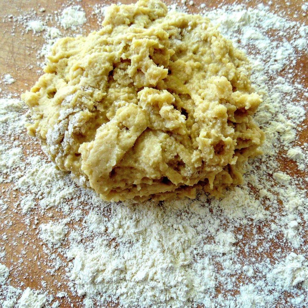 baking dough for play.JPG