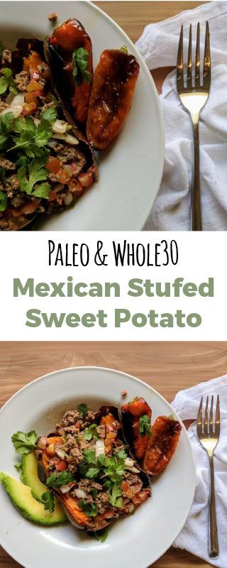 Mexican Stuffed Sweet Potato