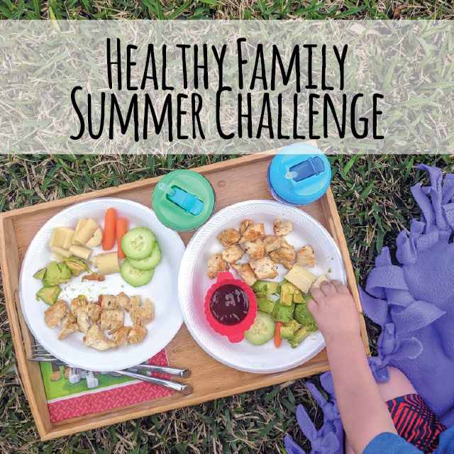 Why not get you family healthy this summer with a simple weekly challenge. The challenges will help improve your family's relationship with food and give you inspiration to make it happen! Let's get healthy together!