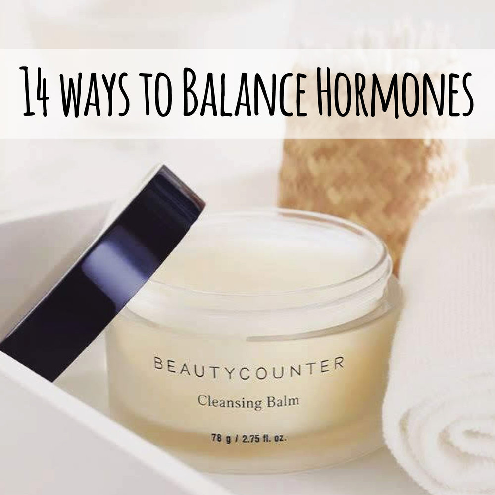 Use these 14 steps to balance your hormones naturally.