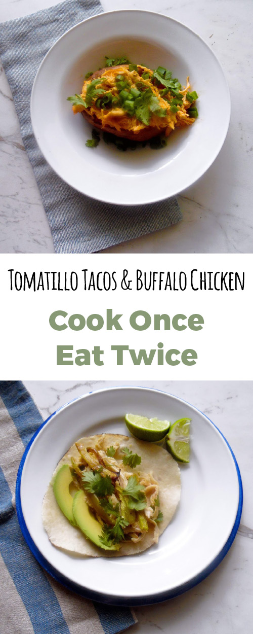 Cook one night and eat for two. This easy dinner recipe will take no time to eat and is kid friendly. It is #paleo and #whole30