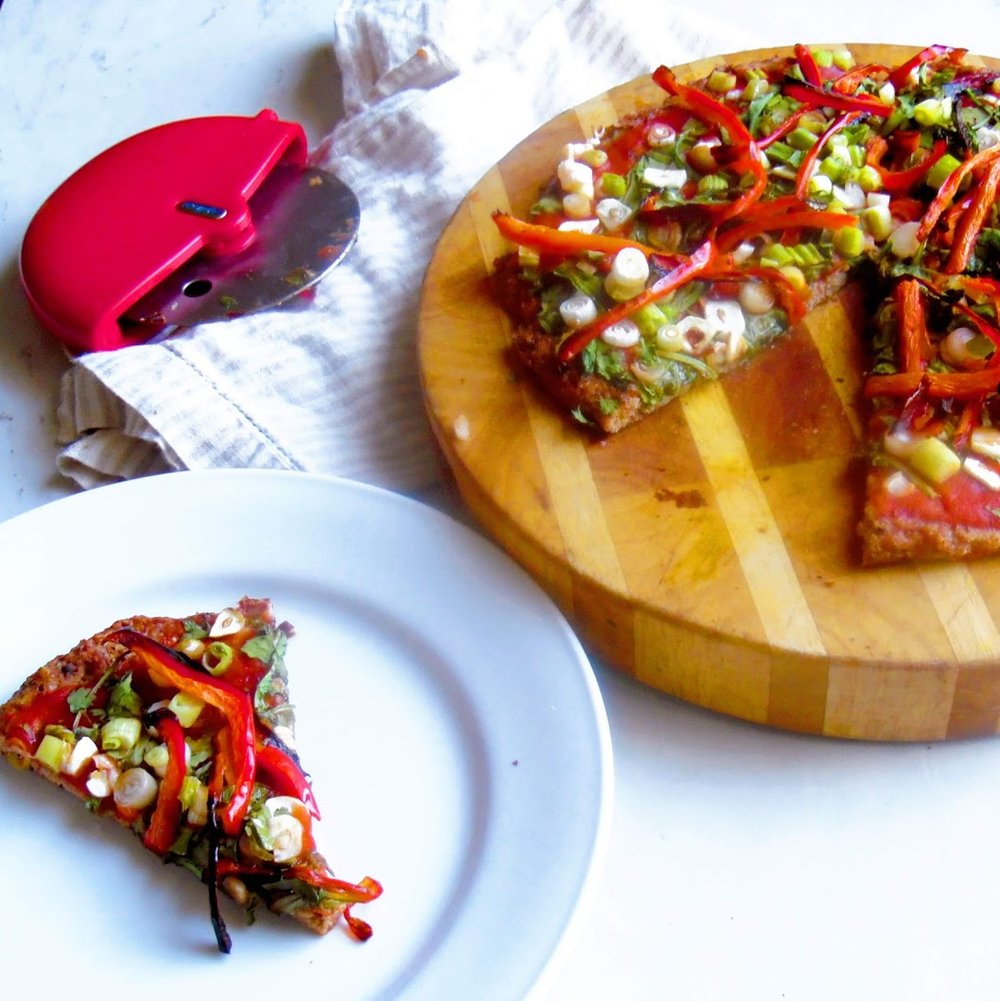 simple, fun and different week night dinner recipe. Meatza crust without an egg.