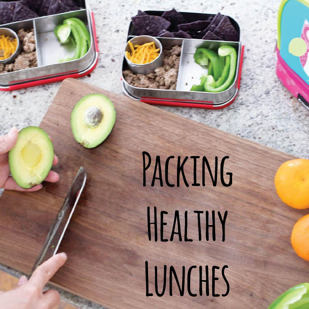 School lunch box packing tips for the busy mom. All healthy lunch ideas, no sandwiches.