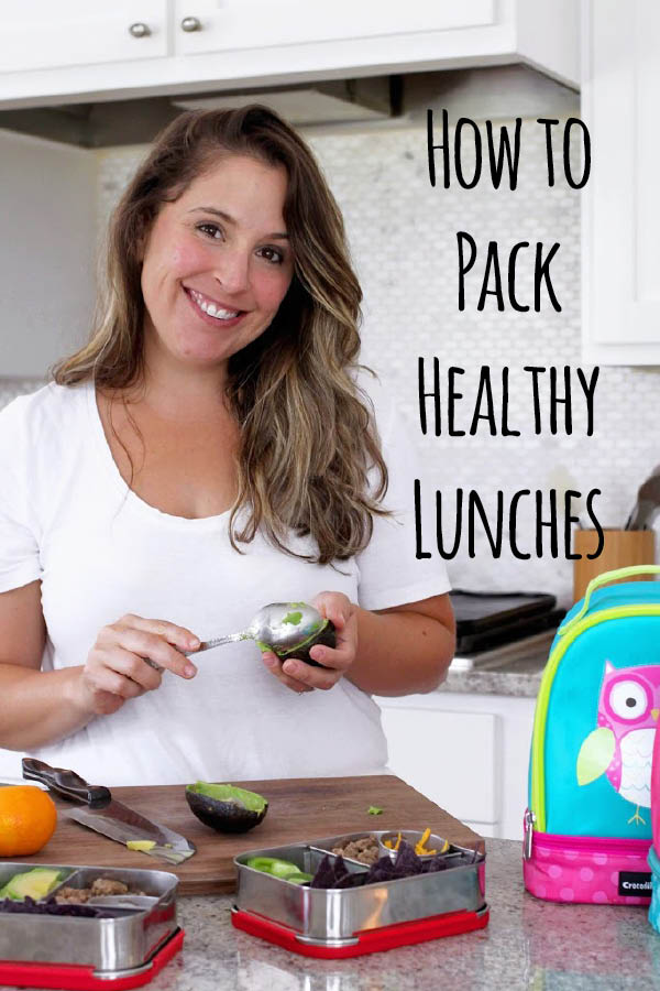 How to guide for packing school lunches for your children. Includes a pdf guide to put on your fridge.
