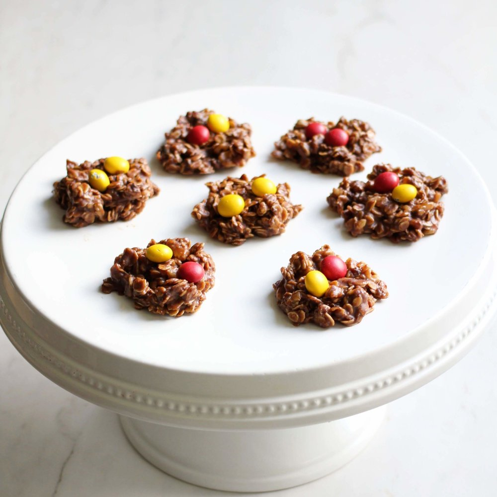 yummy and healthy no bake cookies that are both dairy free and gluten free.