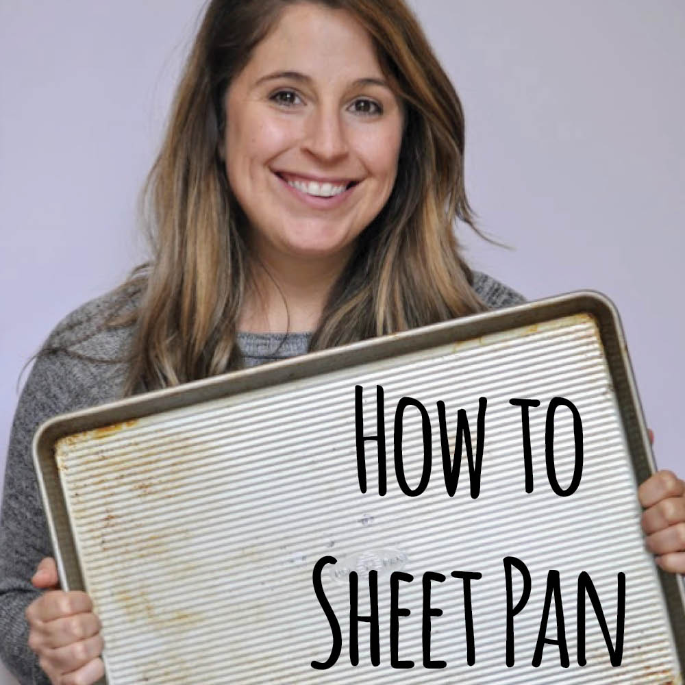 Learn how to build and cook a dinner solely on a sheet pan.