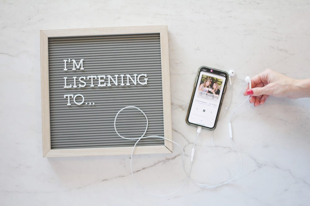 This is a round-up of all our favorite podcasts! If you are a mom who needs to escape into a good podcast, this is the list for you.