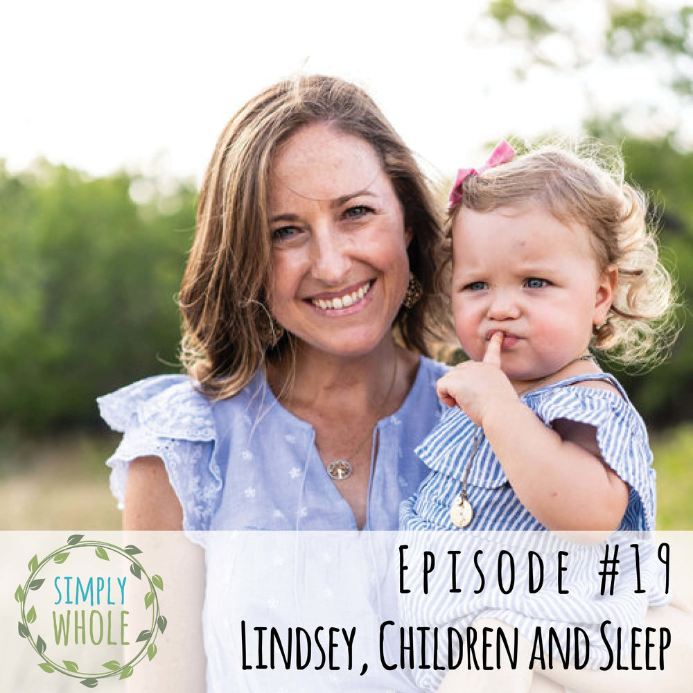 Ep 19 Lindsey on Getting Children to Sleep