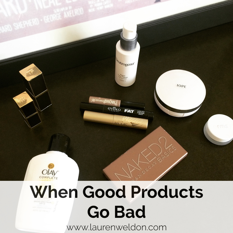 When Good Products Go Bad - Beauty Product Expiration Dates