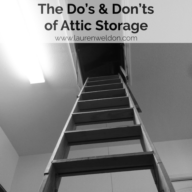 The Do's & Don'ts of Attic Storage