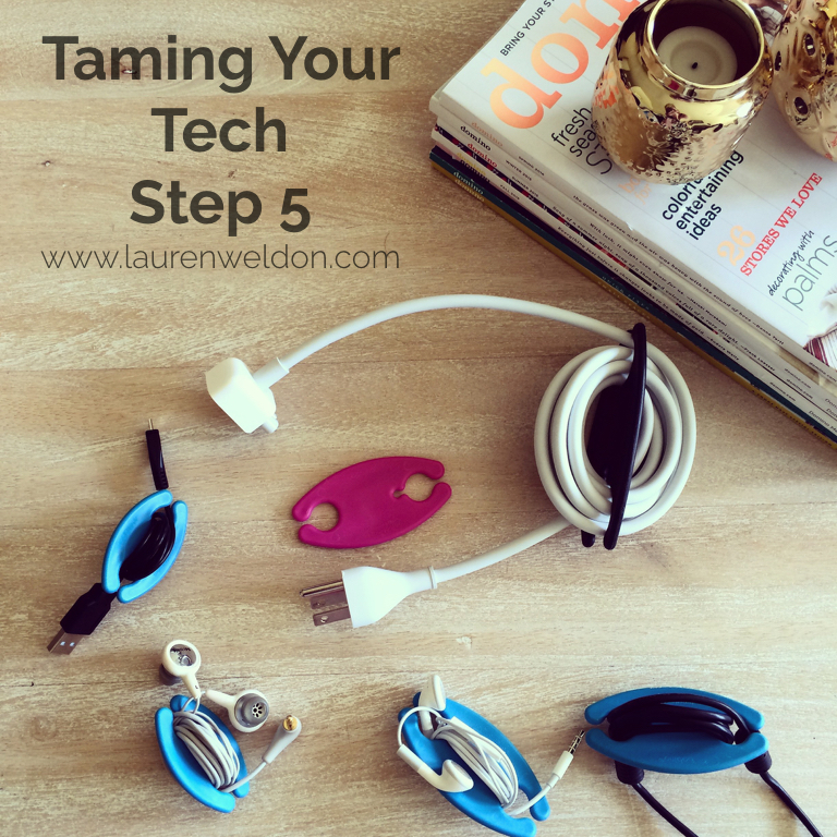 Taming Your Tech - Cords, Cables, & Wires