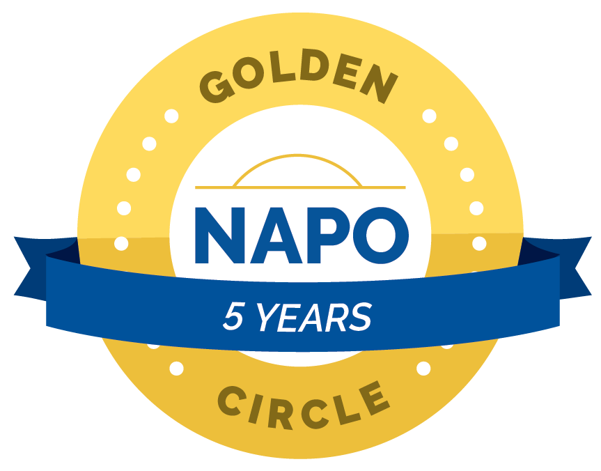 Lauren Weldon Organized Interiors - NAPO Golden Circle Member - 5 years