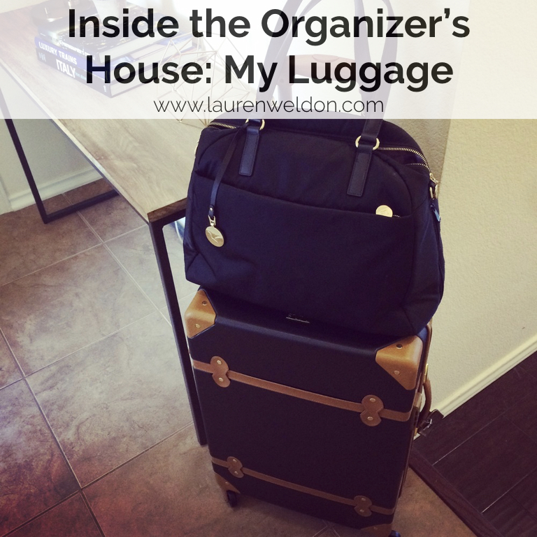 Inside the Organizer's House: My Luggage
