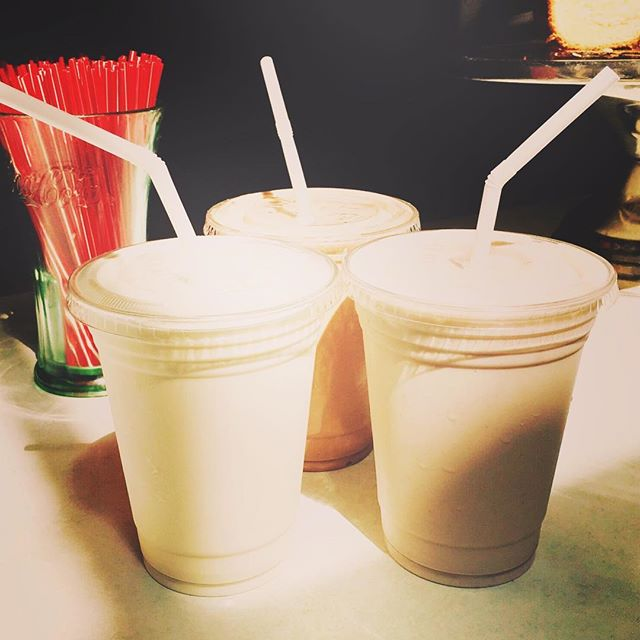 Day One: milkshake season!  #springinstockbridge #socoicecream #milkshakelove #elmstreetmarket #highlawncreamery #milkshake