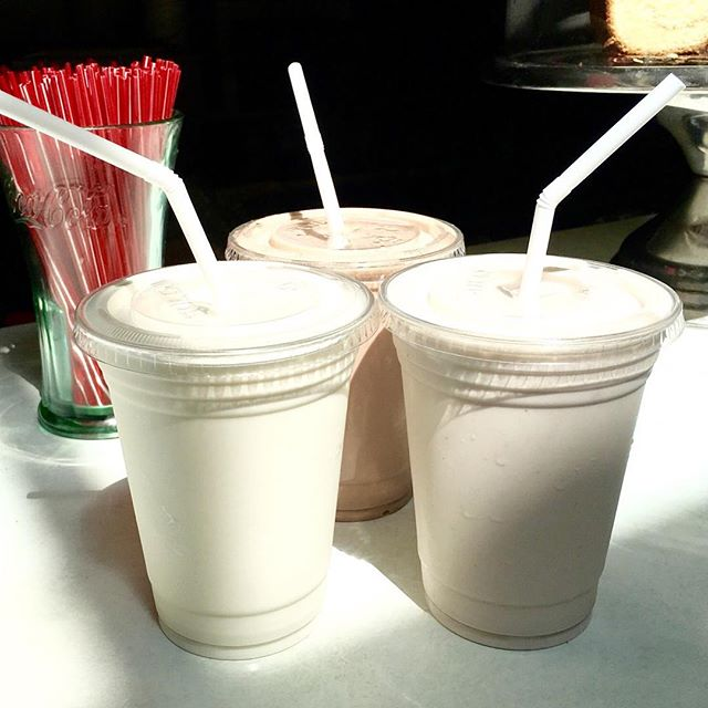 First day of school? You NEED a milkshake! Elm Street Market  #socoicecream #summerinstockbridge #bestmilkshakeever #bestoftheberkshires #highlawncreamery