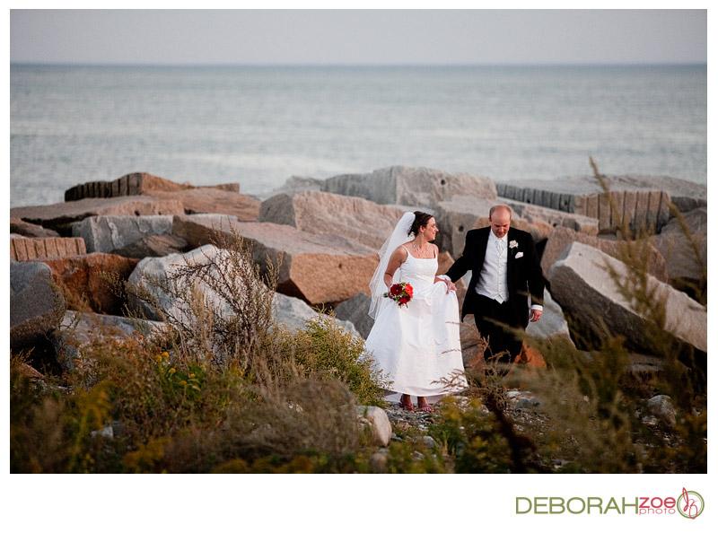 Stephanie & Erik's Wedding At Rye Harbor State Park