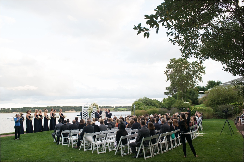 ceremony at Wequassett Resort and Golf Club