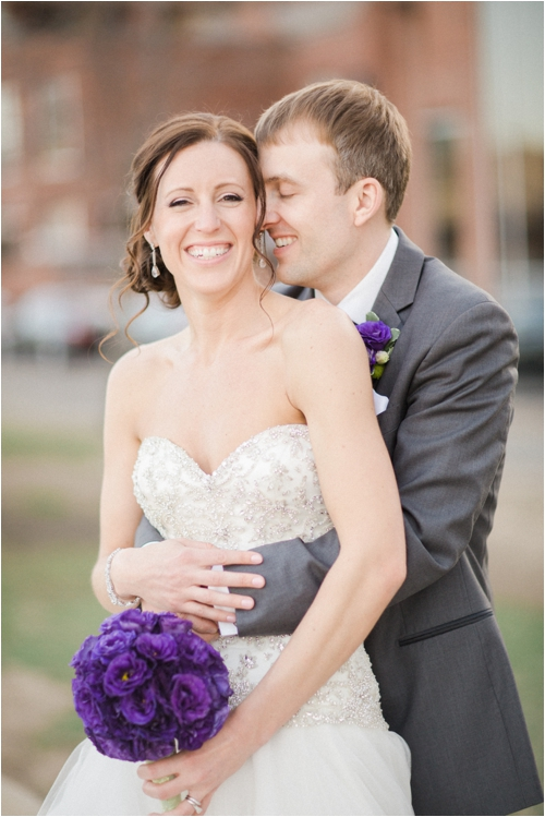 Boston wedding in the spring by Deborah Zoe Photography.