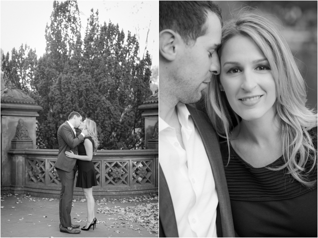 A Central Park Engagement Session by Deborah Zoe Photography.