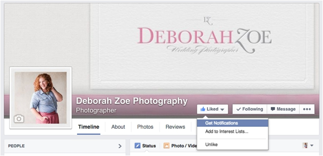 Increase Your Content Reach on Facebook by Deborah Zoe Photography