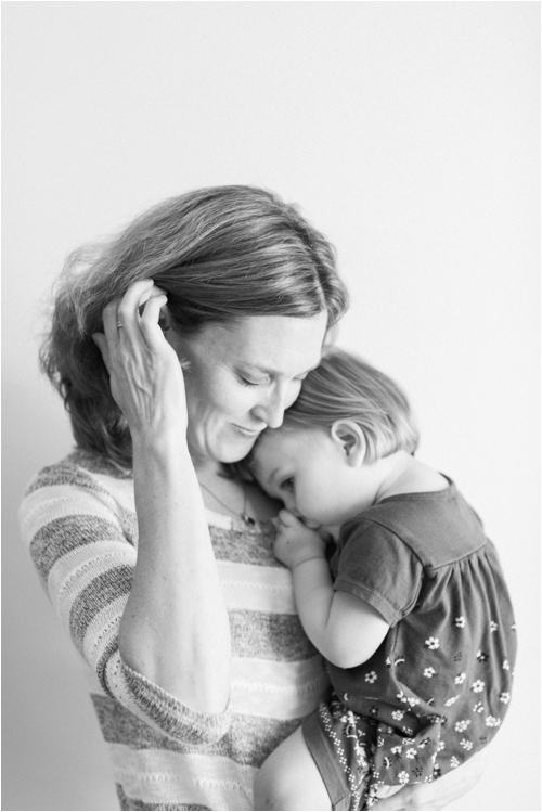 At Home Family Portraits by Deborah Zoe Photography.