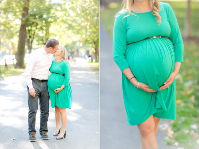 A Back Bay maternity session by Deborah Zoe Photography.