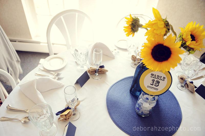 Maine Wedding Photography Maine Wedding Ogunquit Wedding York Wedding DIY Wedding Sunflower Wedding Details  Deborah Zoe Photo026