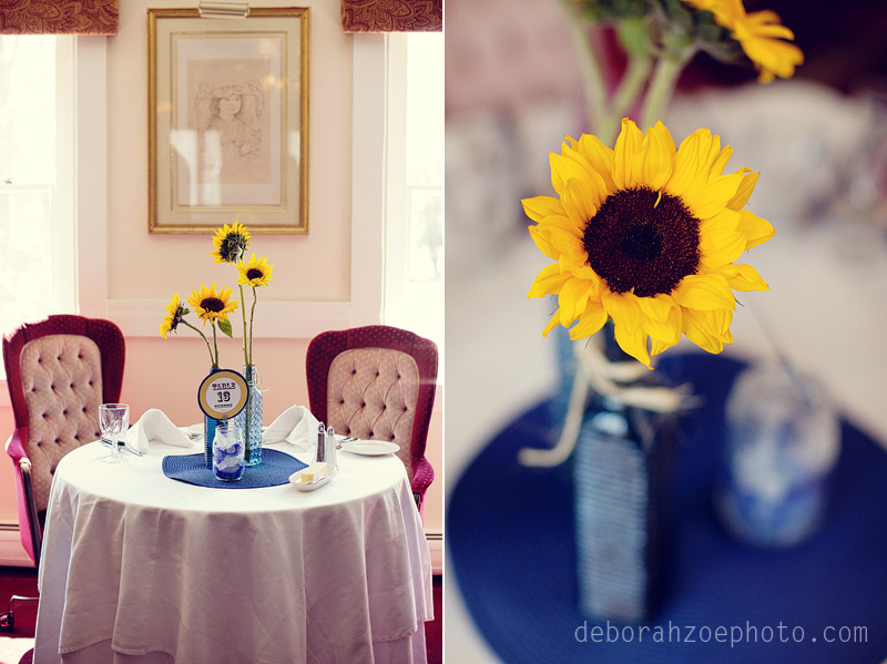 Maine Wedding Photography Maine Wedding Ogunquit Wedding York Wedding DIY Wedding Sunflower Wedding Details  Deborah Zoe Photo028